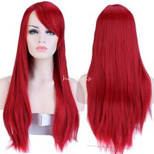 Top Sale Womens Long Hair Full Wigs Party Costume Cosplay Wig for Halloween #wg5