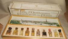 Collection Miniature Perfumes of Paris Les Meilleurs Parfums de Paris Vintage