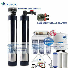 SALT FREE WATER SOFTENER BONE CHAR CARBON REVERSE OSMOSIS COMPLETE HOME SYSTEMS