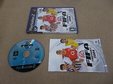 PS2 Playstation 2 Pal Game FIFA FOOTBALL 2004 with Box Instructions