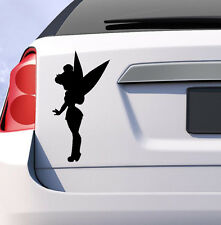 Tinkerbell disney princess car decal sticker choice of colours vinyl peter pan