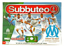 OFFICIAL MARSEILLE SUBBUTEO BOX SET. PAUL LAMOND TABLE SOCCER. TABLE FOOTBALL