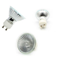 ALL HALOGEN GU10 BULBS 35W - 50W CHOICE OF 5, 10, 20, 50 AND 100 PACK LAMPS SALE