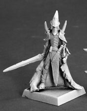 Shadowguard Darkreach Reaper Miniature Warlord RPG Dark Elf Fighter Anti Paladin