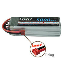 HRB RC 5S 18.5V 5000mAh 50-100C Lipo Battery RC Quadcopter Airplane DJI FPV USA