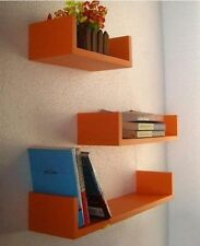 Floating Wall Shelf Available in Different Colors