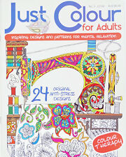 Just Colour For Adults Issue 2 - Adult Colouring Book - Colouring for Adults!!!