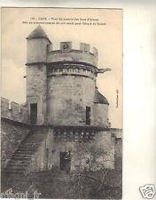 14 - cpa - CAEN - Tour du manoir des gens d'Armes ( i 1949)