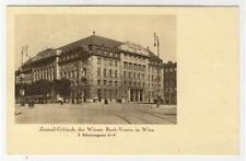 AK Wien I, Wiener Bank Verein, Wehrmachtausstellung-Stempel 1940