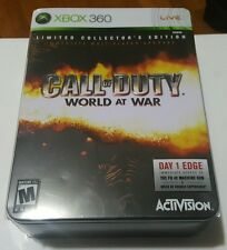 """Call of Duty: World at War -- """"Limited Collector's Edition""""  (Microsoft Xbox..."""