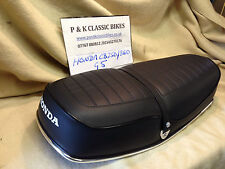 "HONDA CB250/360 G5 SEAT COVER & STRAP ""FREE POST"" WITHIN THE UK"