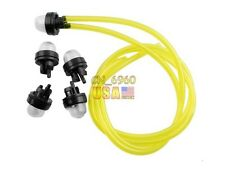 5 Pieces Snap In Primer Bulbs & Pump Fuel Line RYOBI 683974 For ECHO Poulan