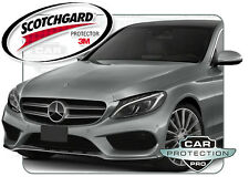Mercedes C300 Sport 2015 3M Scotchgard Clear Bra Paint Protection Film Kit