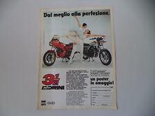 advertising Pubblicità 1982 MOTO MORINI 350 TRE E MEZZO