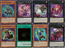 Yugioh Ghostrick Deck - 40 Cards + 15 XYZ - Lantern Mary Dullahan Socuteboss