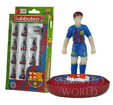 2017 barcelona 1ST officiel subbuteo équipe. paul lamond table football. foot.