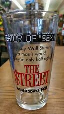 The Street TV Show Advertising Pint Beer Glass Wednesday Fox