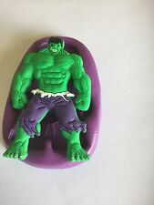 Hulk silicone mould (cupcake.topper. Marvel Avengers Birthday.superheros.