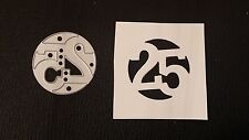 Sizzix Die Cutter NUMBER 25 CHRISTMAS Thinlits fits Big Shot Cuttlebug