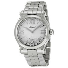 Chopard Happy Sport Automatic Silver Dial Stainless Steel Watch 278559-3002
