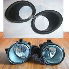 Set Front bumper Driving Fog Light Lamp with cover For 2008-2014 NISSAN Qashqai