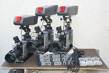 Panasonic WV-F700A Cameras with CCU Studio Package - Church Tele...