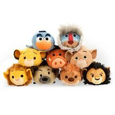 "AUTHENTIC DISNEY STORE TSUM TSUM BNWT THE LION KING x9 MINI 3"" COMPLETE SET"