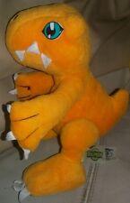 1999 BANDAI - DIGIMON AGUMON PLUSH - 20Cm. - Peluche Doll Figure WarGreymon