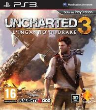 Uncharted 3: Drake's Deception PS3 Juego (Sony PlayStation 3)