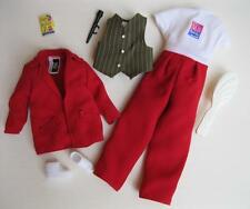 CURVY/GRANDMA/Rosie O'Donnell 1999 Red Suit Jumper Clothes Shoes OUTFIT SET