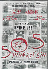 Dvd **SOS • SUMMER OF SAM • PANICO A NEW YORK** di Spike Lee nuovo 1999