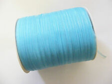 20 Meters Organza Ribbon - 3mm - Turquoise