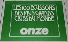 ALBUM VIDE EMPTY LEER ONZE 1979 ECUSSONS CLUBS FOOTBALL