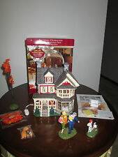 department dept 56 THANKSGIVING AT GRANDMOTHER'S HOUSE snow village MIB complete