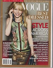 VOGUE Magazine Special Edition 2012, BEST DRESSED, STYLE ACROSS AMERICA.