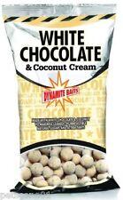 DYNAMITE BAITS WHITE CHOCOLATE & COCONUT CREAM 15MM BOILIES 1KG SHELF LIFE CARP