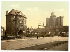 4 Victorian Views Newcastle on Tyne Blackgate Jesmond Tynemouth Old Photo Poster