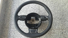 NO RESERVE Audi A3 S3 8V  multifunction steering wheel with paddles 8V0419091B