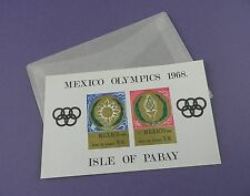 Mexico Olympics 1968 - Isle of Pabay Miniature Stamp Sheet