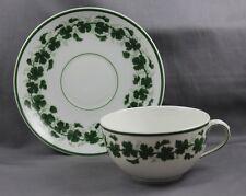KPM  Royal Berlin Porcelain Kaiser Wilhelm II Green Vine Cup & Saucer 1895/1911