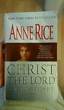 Christ the Lord Out of Egypt by Anne Rice (2006, Paperback) Softcover Book