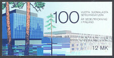 Finland 1985 Banknote booklet Sc# 706a NH