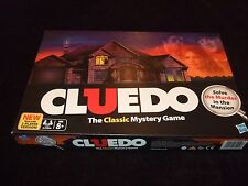 CLUEDO-THE CLASSIC MYSTERY GAME-SOLVE THE MURDER IN THE MANSION-2 PLAYER VERSION