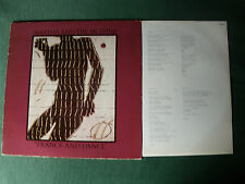 MARTHA AND THE MUFFINS: Trance and dance LP DINDISC 202837 innersleeve + lyrics
