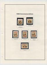 U.S. 1995 Commemorative Year Set, 79 items (7 scans) COMPLETE, mNH Fine