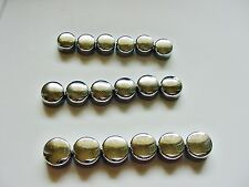 Ford Chrome Motor Engine Bolts Caps Covers Dress-up Kit set 18 3NOS Mustang