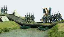 Renedra Wooden Pontoon Bridge - Plastic Kit for American Civil War up to WW2
