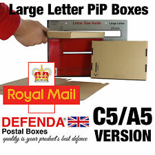 250 x STRONG C5 A5 PIP POSTAL POSTING BOXES LARGE LETTER size Postage Mailers