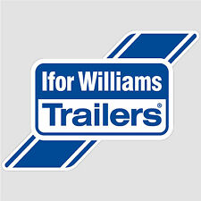 Ifor Williams Trailers Logo Sticker decal vinyl print self-adhesive A6 (10x15cm)