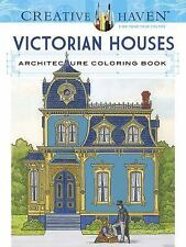 Adult Coloring: Creative Haven Victorian Houses Architecture Coloring Book by...